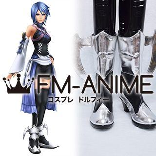 Kingdom Hearts Birth by Sleep Aqua Cosplay Shoes Boots