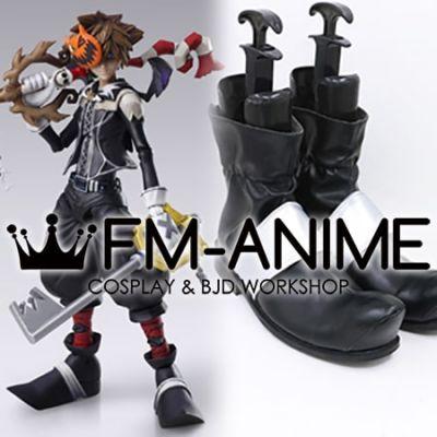 Kingdom Hearts II Sora Bring Arts Halloween Town ver. Cosplay Shoes Boots