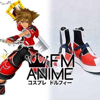 Kingdom Hearts II Sora Valor Form Cosplay Shoes Boots