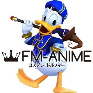 Kingdom Hearts III 3 Donald Duck Human Cosplay Costume