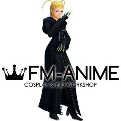 Kingdom Hearts Larxene Cosplay Costume