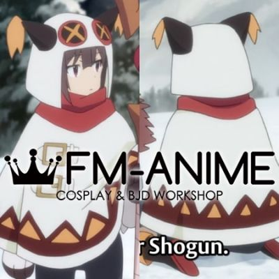 KonoSuba God's Blessing on This Wonderful World! Megumin Winter Outfit Cosplay Costume