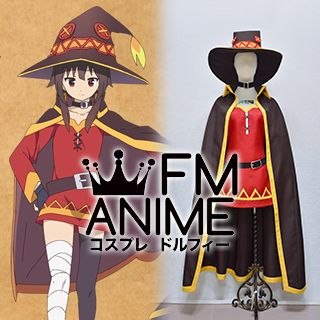 KonoSuba: God's Blessing on This Wonderful World! Megumin Cosplay Costume