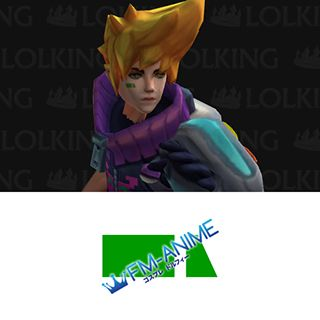 League of Legends Arcade Ezreal Cosplay Tattoo Stickers