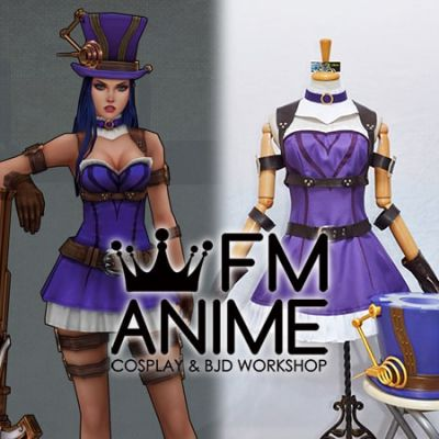 League of Legends Caitlyn Cosplay Costume Hat