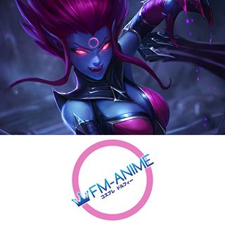 League of Legends Evelynn Cosplay Tattoo Stickers