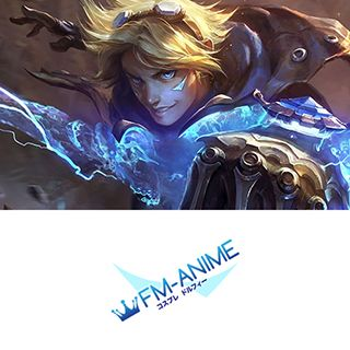 League of Legends Ezreal Skin Cosplay Tattoo Stickers