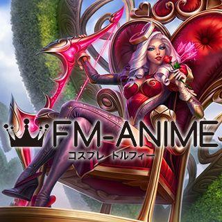 League of Legends Heartseeker Ashe Skin Cosplay Costume