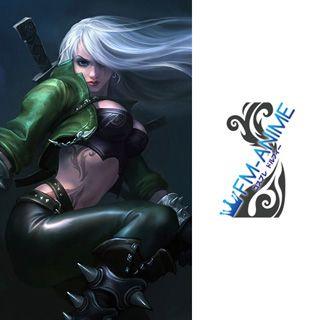 League of Legends Katarina Mercenary Skin Cosplay Tattoo Stickers