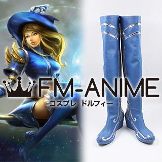 League of Legends Lux Sorceress Skin Cosplay Shoes Boots
