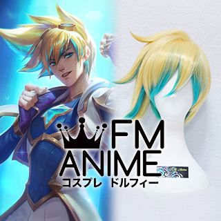 League of Legends Star Guardian Ezreal Skin Cosplay Wig