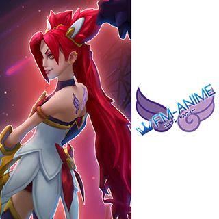 League of Legends Star Guardian Jinx Cosplay Tattoo Stickers