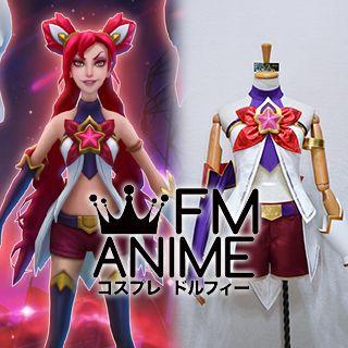 League of Legends Star Guardian Jinx Skin Cosplay Costume Accessories