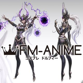 League of Legends Syndra  The Dark Sovereign Skin Cosplay Costume