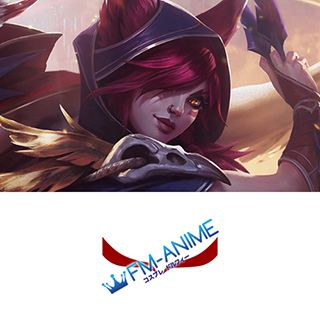 League of Legends Xayah Cosplay Tattoo Stickers