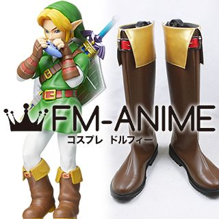 The Legend of Zelda: Ocarina of Time Link Cosplay Shoes Boots