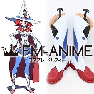 Little Witch Academia Chariot du Nord Cosplay Shoes Boots