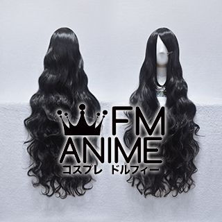 Long Length Wavy Black Cosplay Wig #S0810