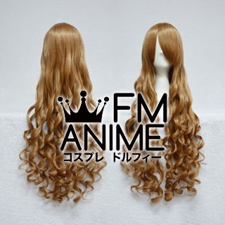 Long Length Wavy Light Brown Cosplay Wig