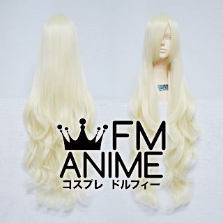 Long Length Wavy Light Gold Cosplay Wig