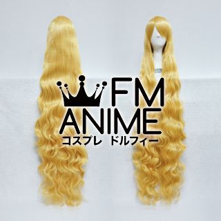 Long Length Wavy Mixed Gold Cosplay Wig (130cm)