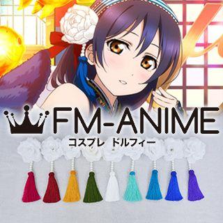 Love Live! Card Kimono Flower Headdress Cosplay Accessories