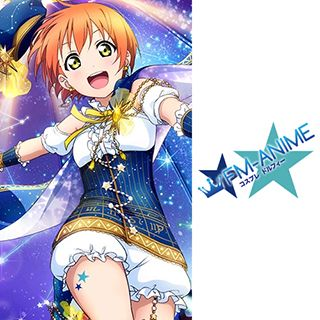 Love Live! Constellation Cards Cosplay Tattoo Stickers