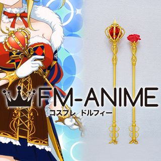 Love Live! Magician Cards Crown Flower Staff Wand Cosplay Accessories Prop