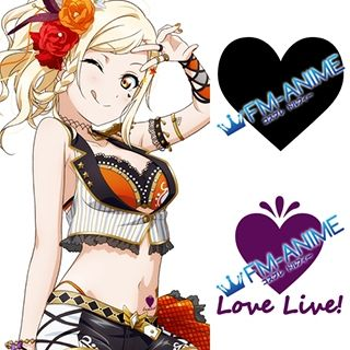 Love Live! School Idol Festival Perfect Dream Project Ai Miyashita Cosplay Tattoo Stickers