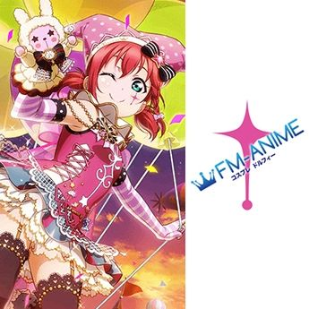 Love Live! Sunshine!! Circus Cards Ver.2 Cosplay Tattoo Stickers
