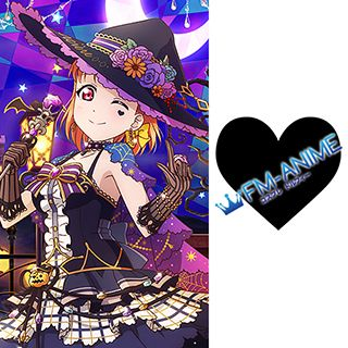 Love Live! Sunshine!! Halloween Heart Cosplay Tattoo Stickers