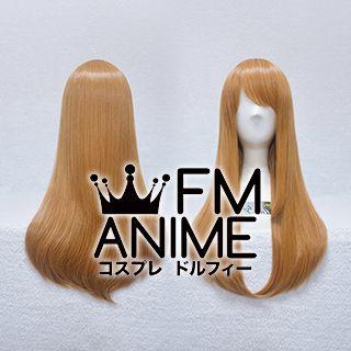 60cm Pageboy Mixed Golden Brown Cosplay Wig