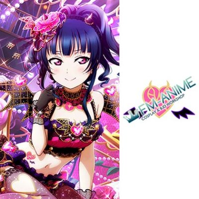 Love Live! Sunshine!! Little Devil Cosplay Tattoo Stickers