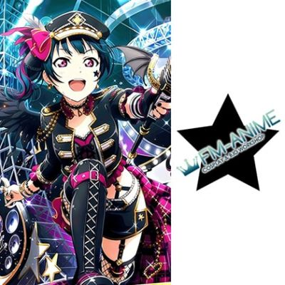 Love Live! Sunshine!! Punk Rock Cosplay Tattoo Stickers