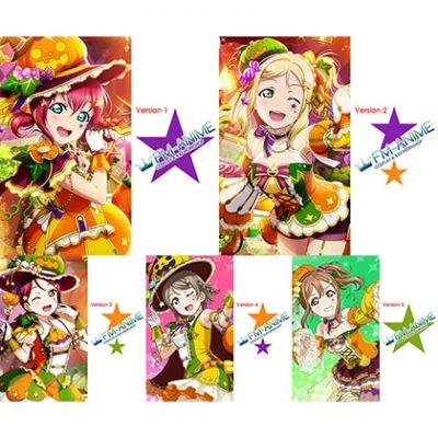 Love Live! Sunshine!! Halloween Harvest Season Cosplay Tattoo Stickers