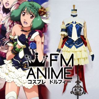 Macross Frontier The Movie: The Wings of Goodbye Ranka Lee Wish of Valkyria Cosplay Costume