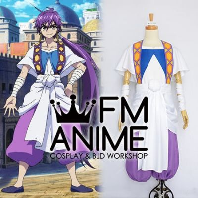 Magi: Adventures of Sinbad Sinbad Cosplay Costume