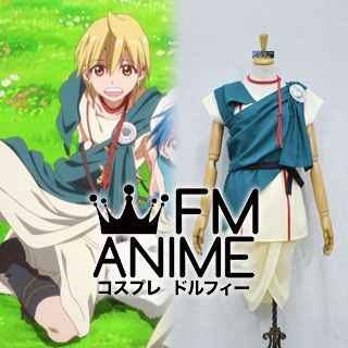 Magi: The Labyrinth of Magic Season 2 Magi: The Kingdom of Magic Alibaba Saluja Cosplay Costume