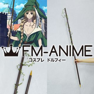 Magi: The Labyrinth of Magic Yunan Cosplay Prop Summoned Staff Wand