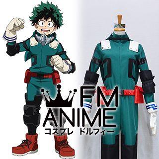 My Hero Academia Izuku Midoriya Deku Hero Cosplay Costume