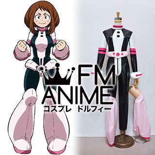 My Hero Academia Ochako Uraraka Hero Cosplay Costume