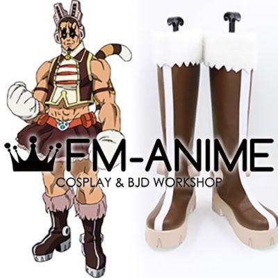 My Hero Academia Yawara Chatora Tiger Tora Wild Pussycats Hero Costume Cosplay Shoes Boots