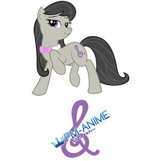 My Little Pony Octavia Cutie Mark Cosplay Tattoo Stickers