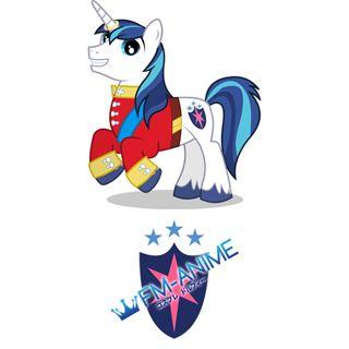 My Little Pony Shining Armor Cutie Mark Cosplay Tattoo Stickers
