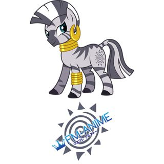 My Little Pony Zecora Cutie Mark Cosplay Tattoo Stickers