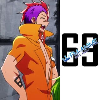 Nanbaka Rock Cosplay Tattoo Stickers
