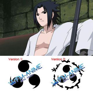 Naruto Sasuke Uchiha Cosplay Tattoo Stickers