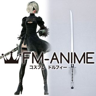 Nier: Automata 2B YoRHa No.2 Type B Wood Sword Cosplay Prop