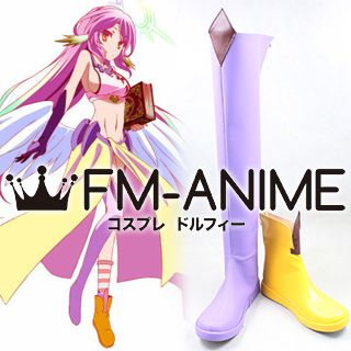 No Game No Life Jibril Cosplay Shoes Boots