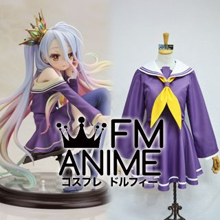No Game No Life Shiro Uniform Cosplay Costume